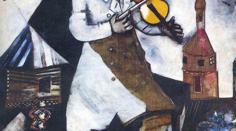 Chagall - Il Violinista - 1913