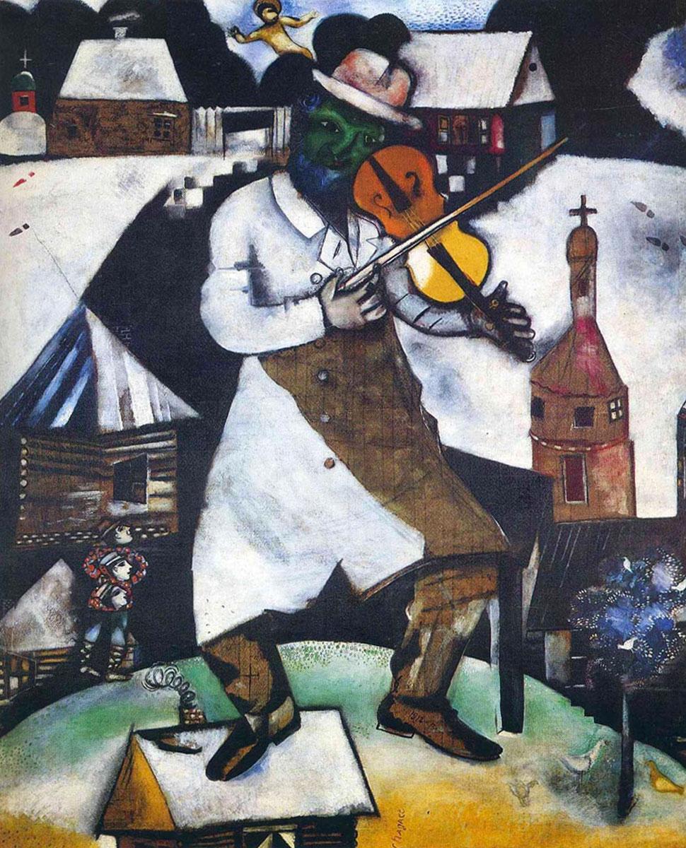 Il Violinista (Marc Chagall, 1912-1913)