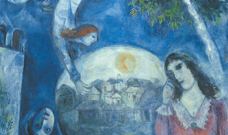 Chagall - Intorno a lei - 1947