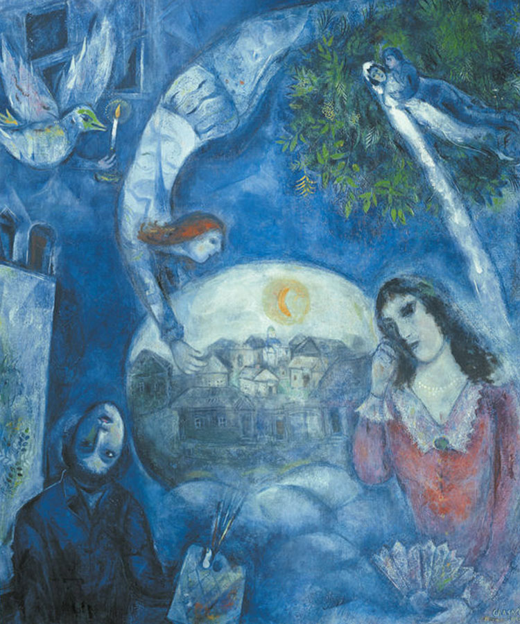 "Marc Chagall: ""Intorno a lei"" (1947)"
