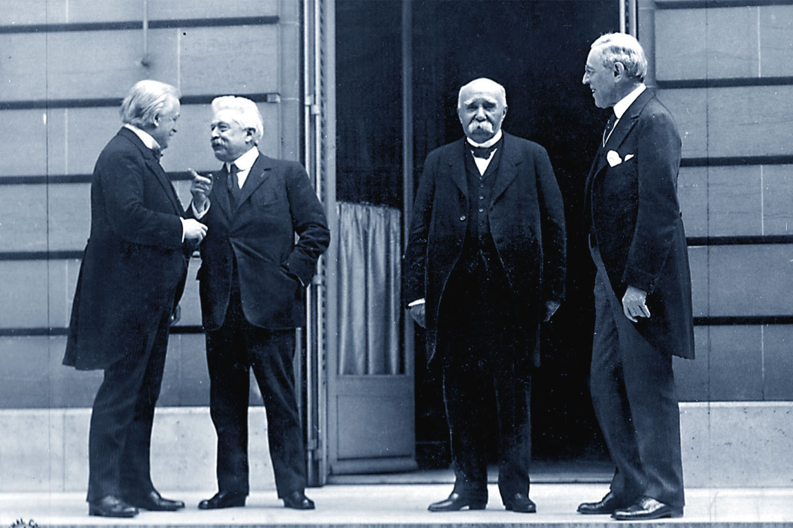 Conferenza di Parigi 1919 - Trattati di pace - Prima guerra mondiale