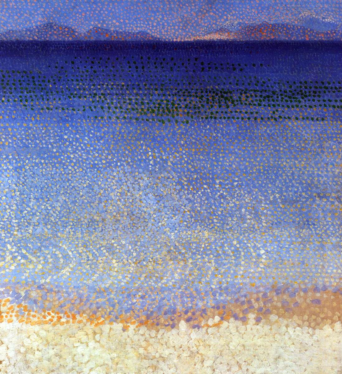 Isole d'oro (Golden isles, 1892) • Quadro celebre di Henri-Edmond Cross