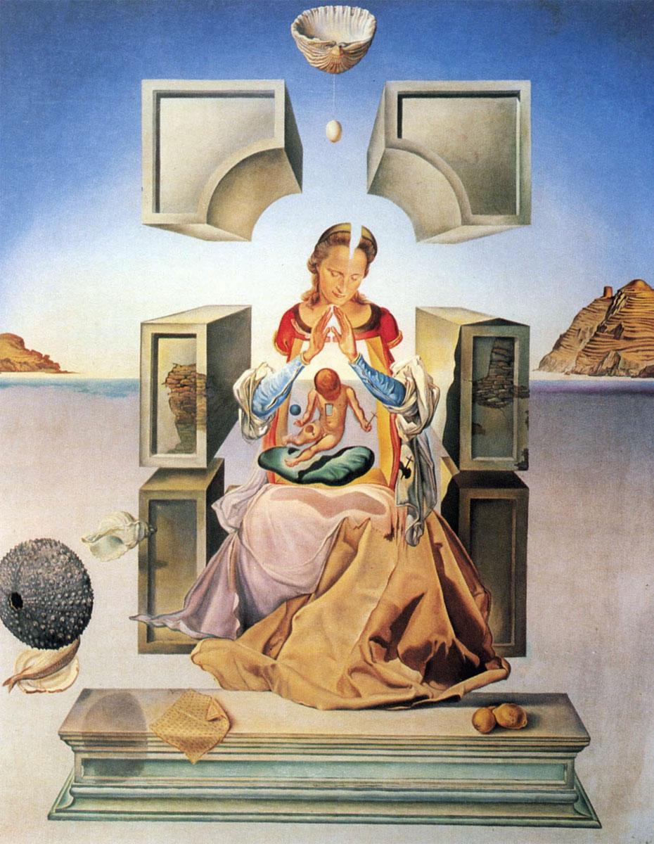 Salvador Dalì: Madonna Port Lligat - 1949