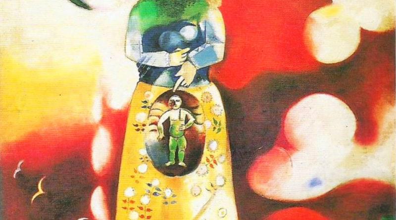 Donna incinta - Chagall