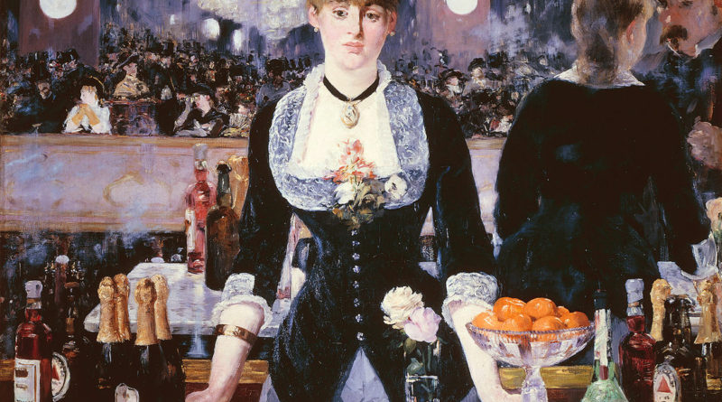Manet - Bar Folies Bergere