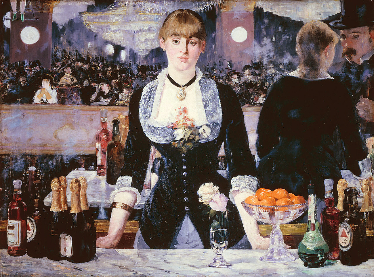 Manet: Il bar delle Folies-Bergère (1881-1882)
