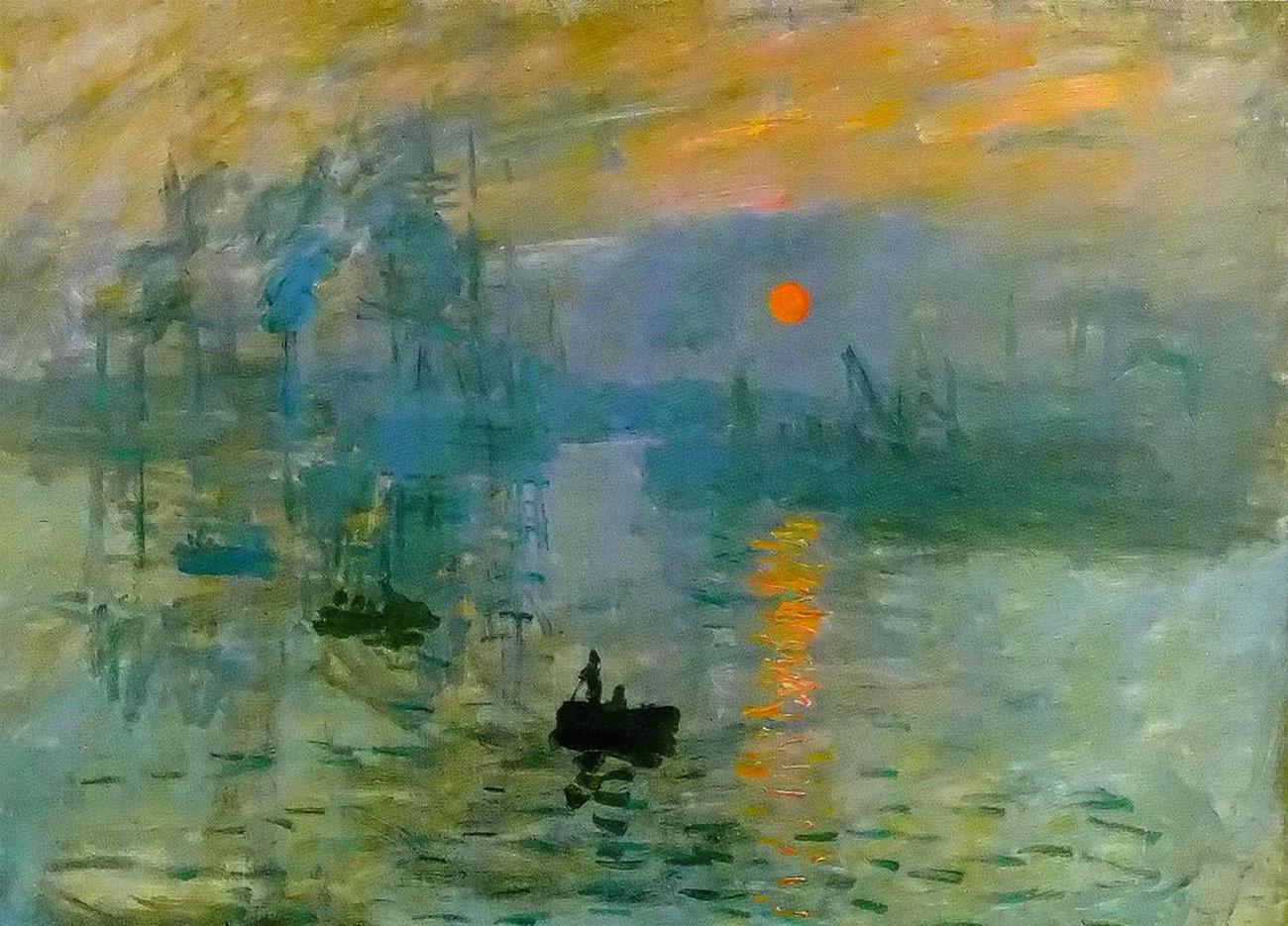 Claude Monet, Impression, soleil levant, 1872 (Impressione, levar del sole)