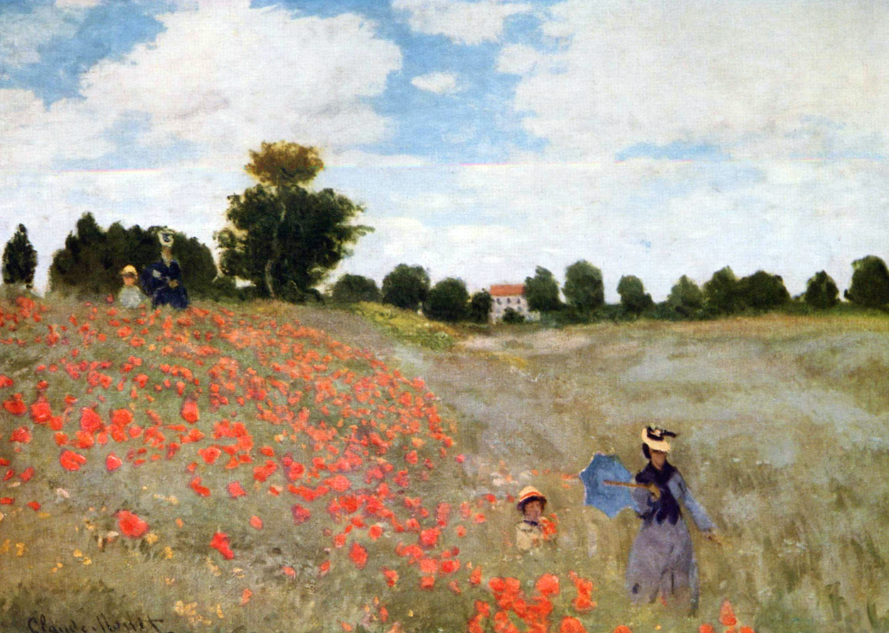 Papaveri - Monet - 1873