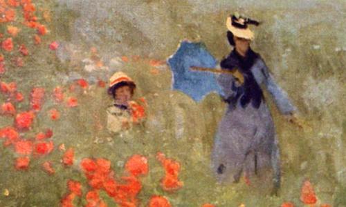 I Papaveri di Monet: dettagli del quadro