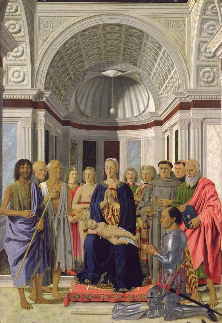 Piero della Francesca: Pala altare di Brera