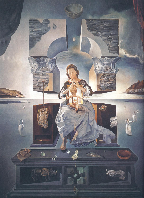 Salvador Dalì - Madonna di Port Lligat - 1950