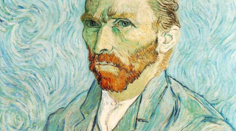 Van Gogh - Self portrait - autoritratto - 1889