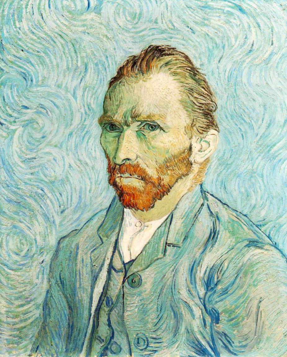Van Gogh: autoritratto (Self-portrait, 1889)