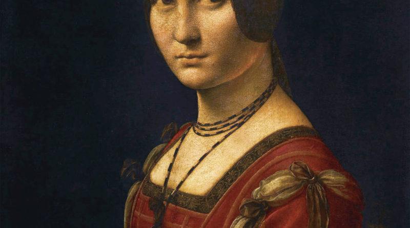 Belle Ferronniere - Ritratto di Dama - Leonardo da Vinci - 1482-1500