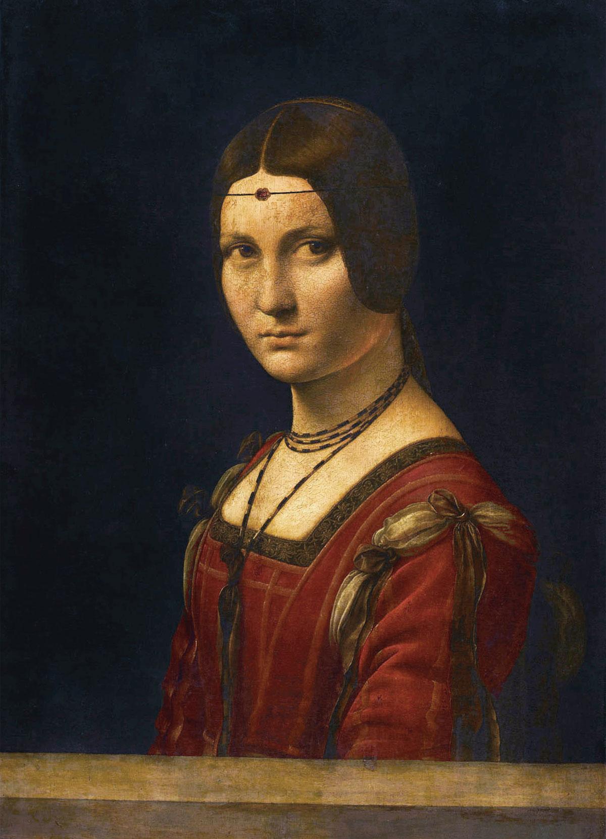 Belle Ferronnière (Leonardo da Vinci, 1482-1500)