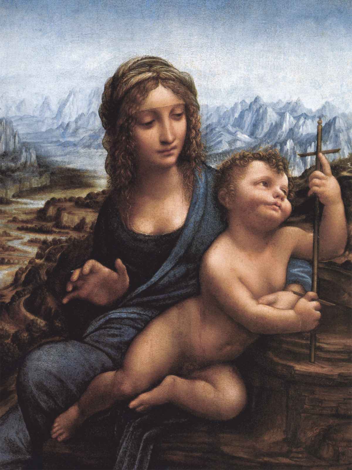 Madonna dei Fusi - Leonardo - 1501