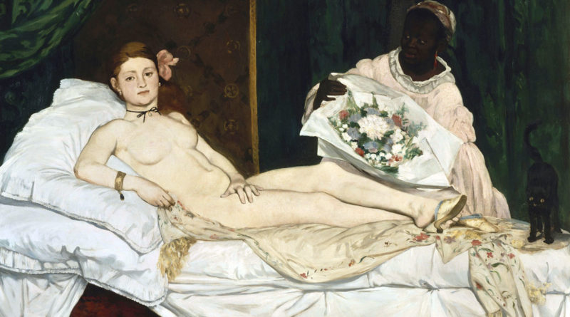 Olympia - Manet - 1863