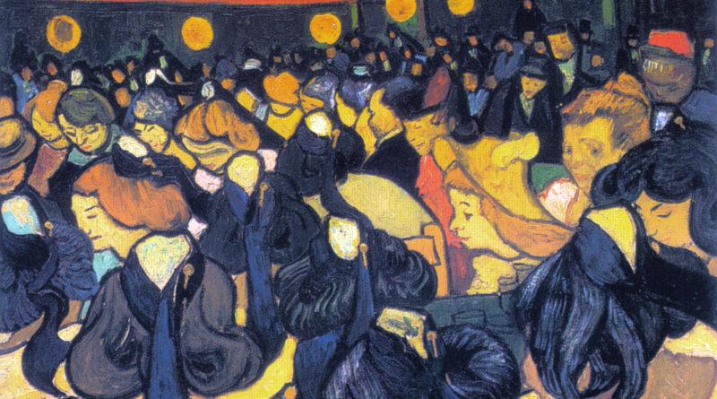 Sala da ballo ad Arles - Salle de dans - Van Gogh - 1888