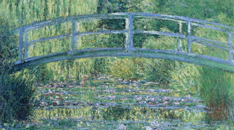 Stagno delle ninfee, armonia verde - Monet