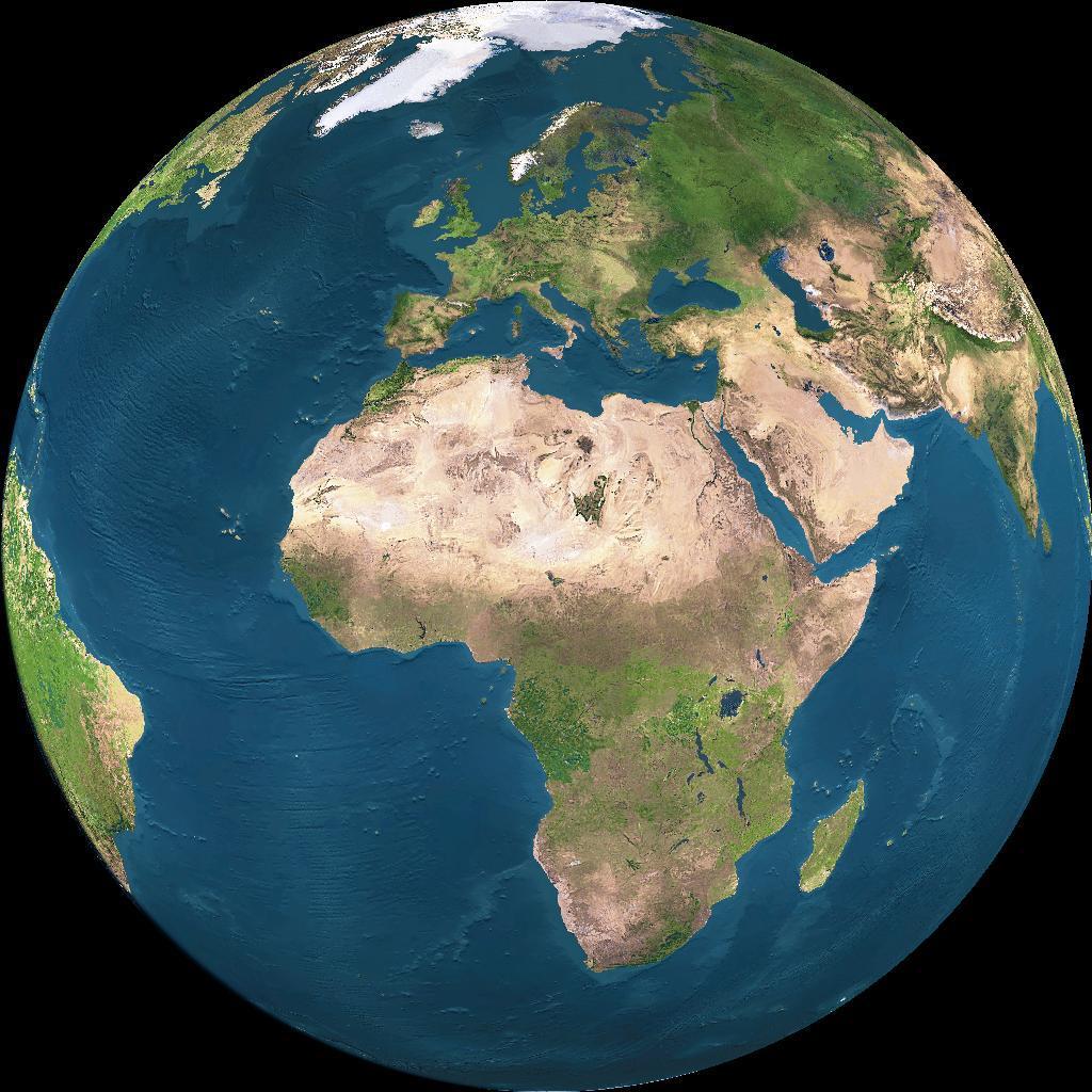 La terra il nostro pianeta - Immagine da colorare della terra ...