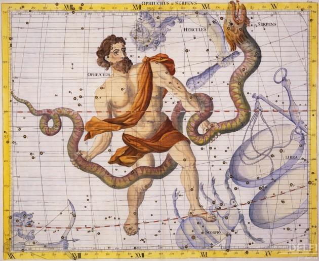 Ofiuco nella mitologia