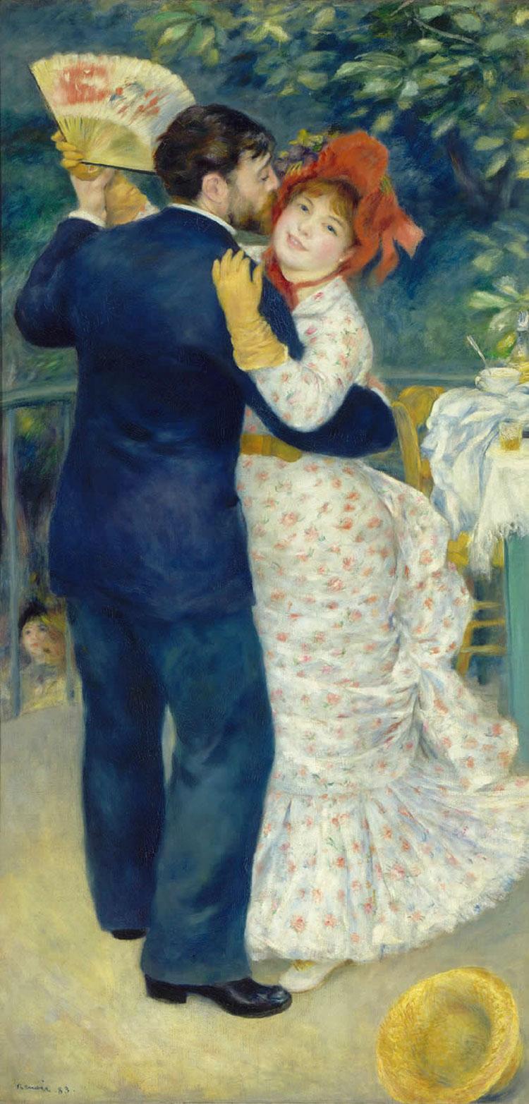Ballo in campagna - Dans a la campagne - Renoir - 1883
