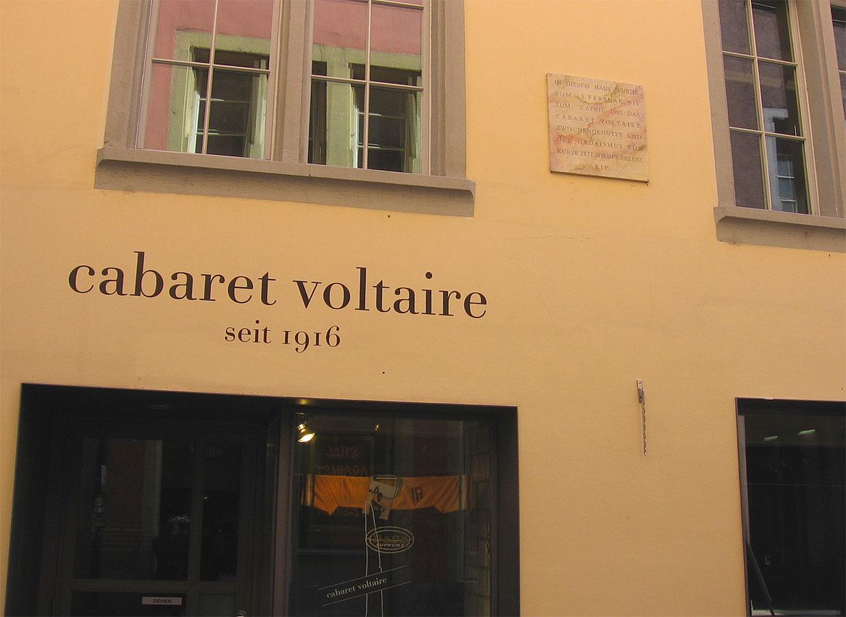 Il Cabaret Voltaire oggi