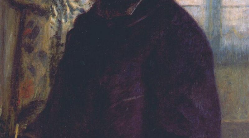 Claude Monet ritratto da Renoir