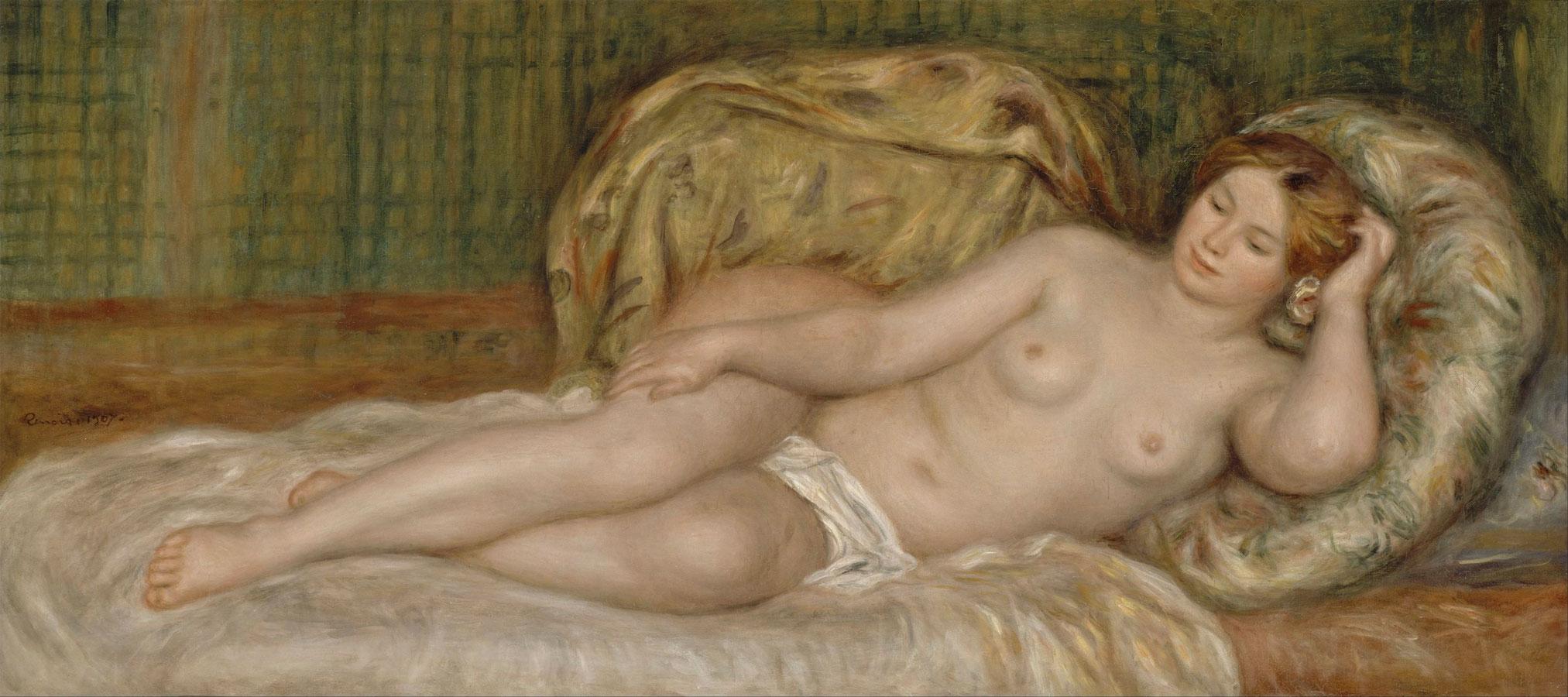 Grande nudo (Grand nu • Renoir, 1907)