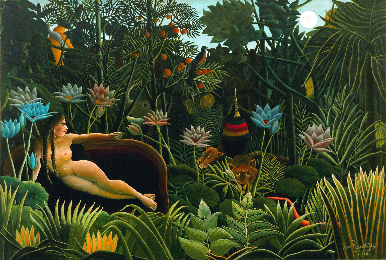 """Henri Rousseau: """"Il sogno"""" (1910)"""
