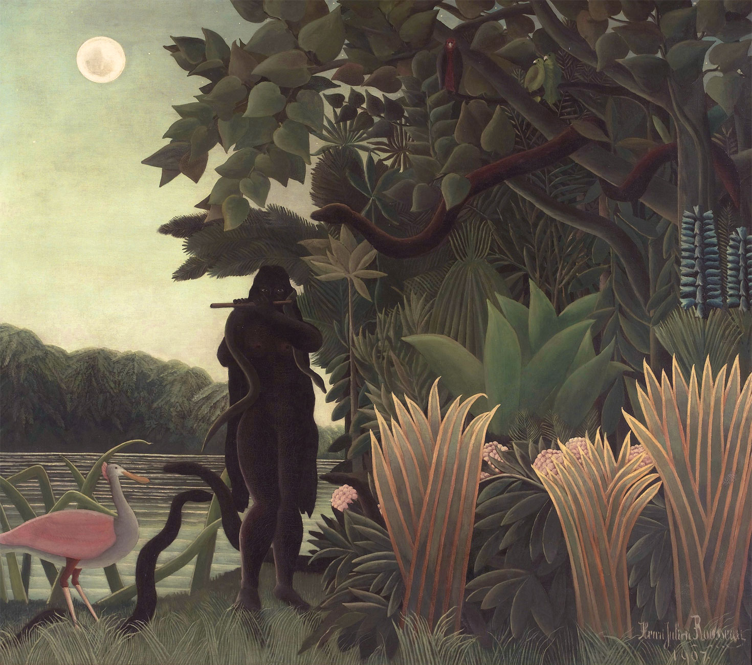 Incantatrice di serpenti - Charmeuse de serpents - 1907