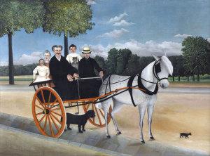 Henri Rousseau: La Carriole du Père Junier (1908) • Il calesse di papà Junier