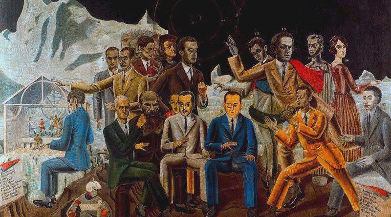 Max Ernst - Incontro degli amici - Rendez vous des amis - 1922