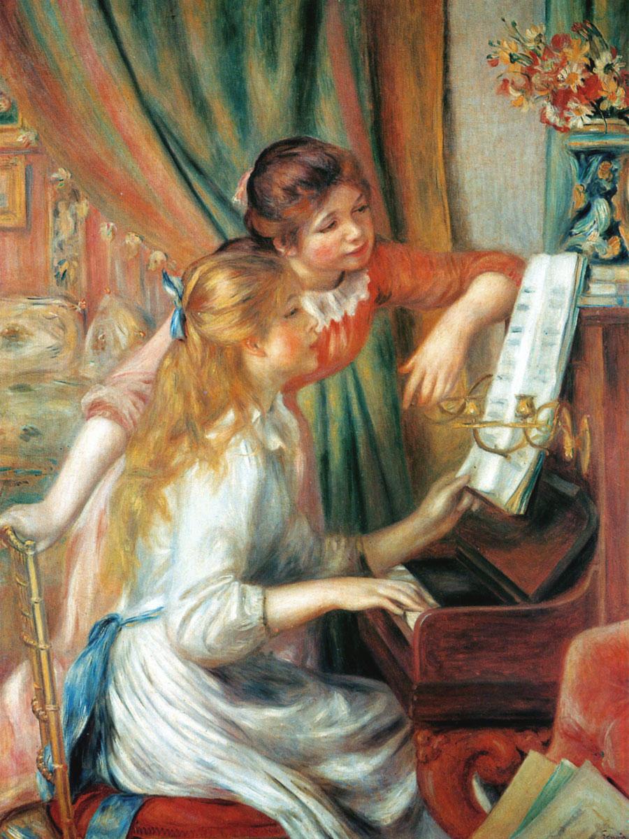 Ragazze al pianoforte