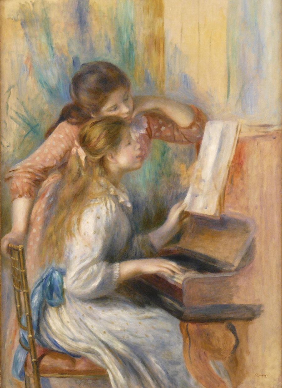 Ragazze al pianoforte - Renoir - 1892 - seconda versione