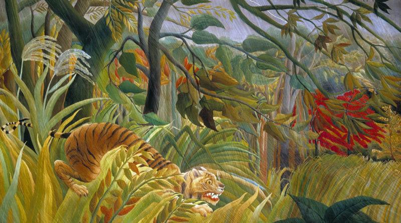 Sorpresa - Tigre in una tempesta tropicale - Henri Rousseau - 1891