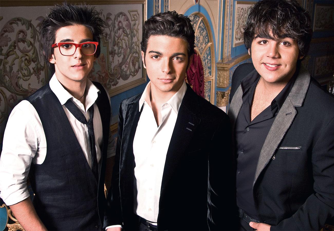 Il Volo - 3 giovani cantanti