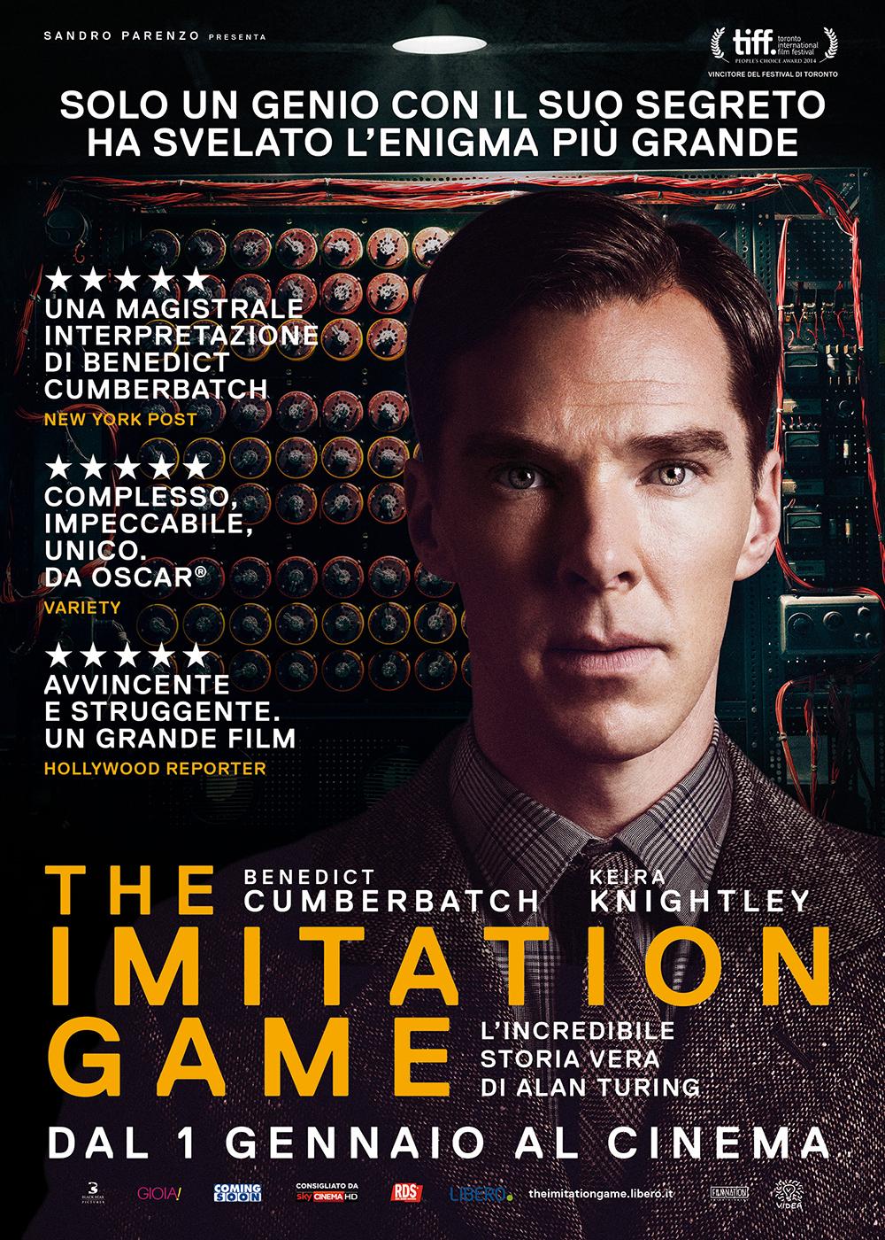 Imitation Game - film biografico sulla vita di Alan Turing - 2014