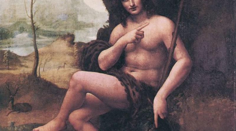 Leonardo da Vinci - Bacco - 1510-1515