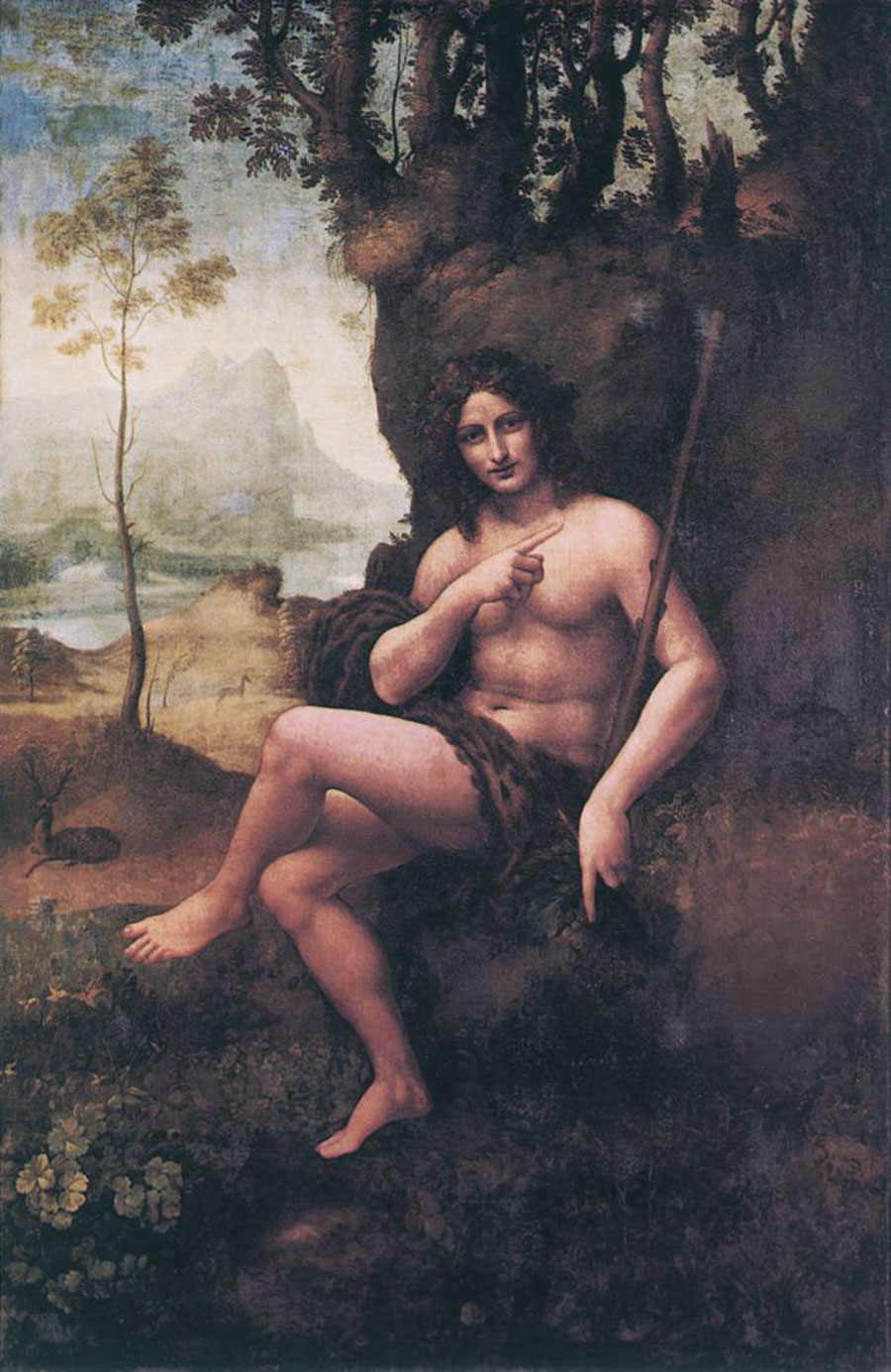 Leonardo da Vinci: Bacco (1510-1515)