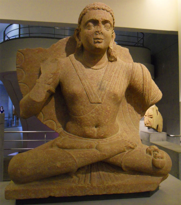 Arte buddhista - Maitreya - arte di Mathura - II secolo