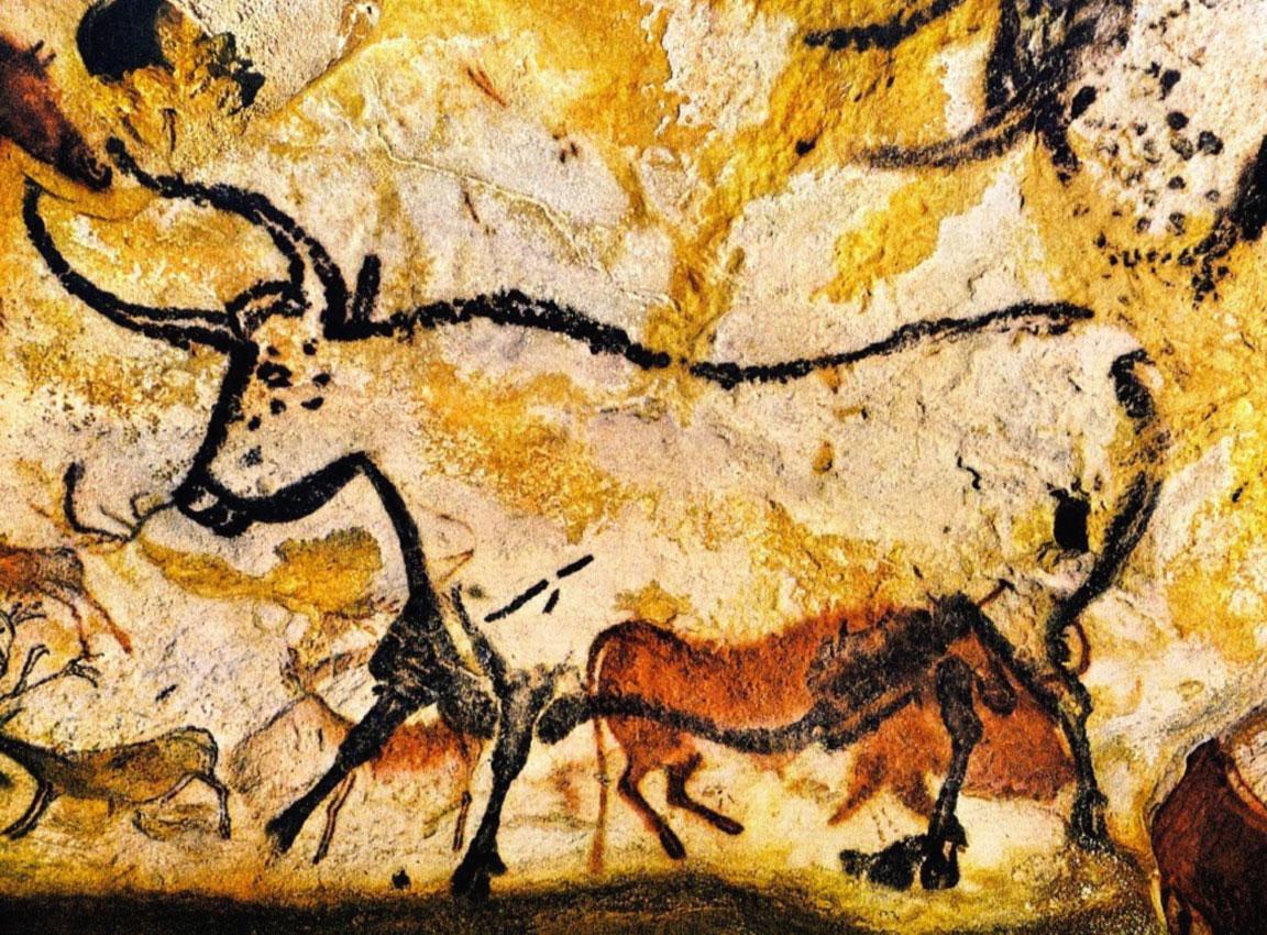 Arte preistorica - Arte rupestre - Grotte di Lascaux