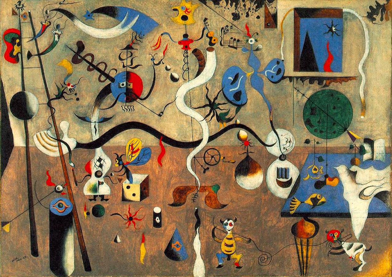Miró e il surrealismo: Carnevale di Arlecchino - Joan Miró - 1925