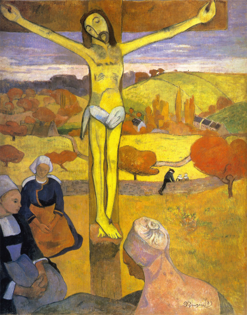 Cristo giallo - Paul Gauguin - 1889