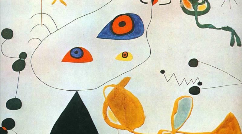 Donne e uccelli nella notte - Joan Miro - 1971-1975