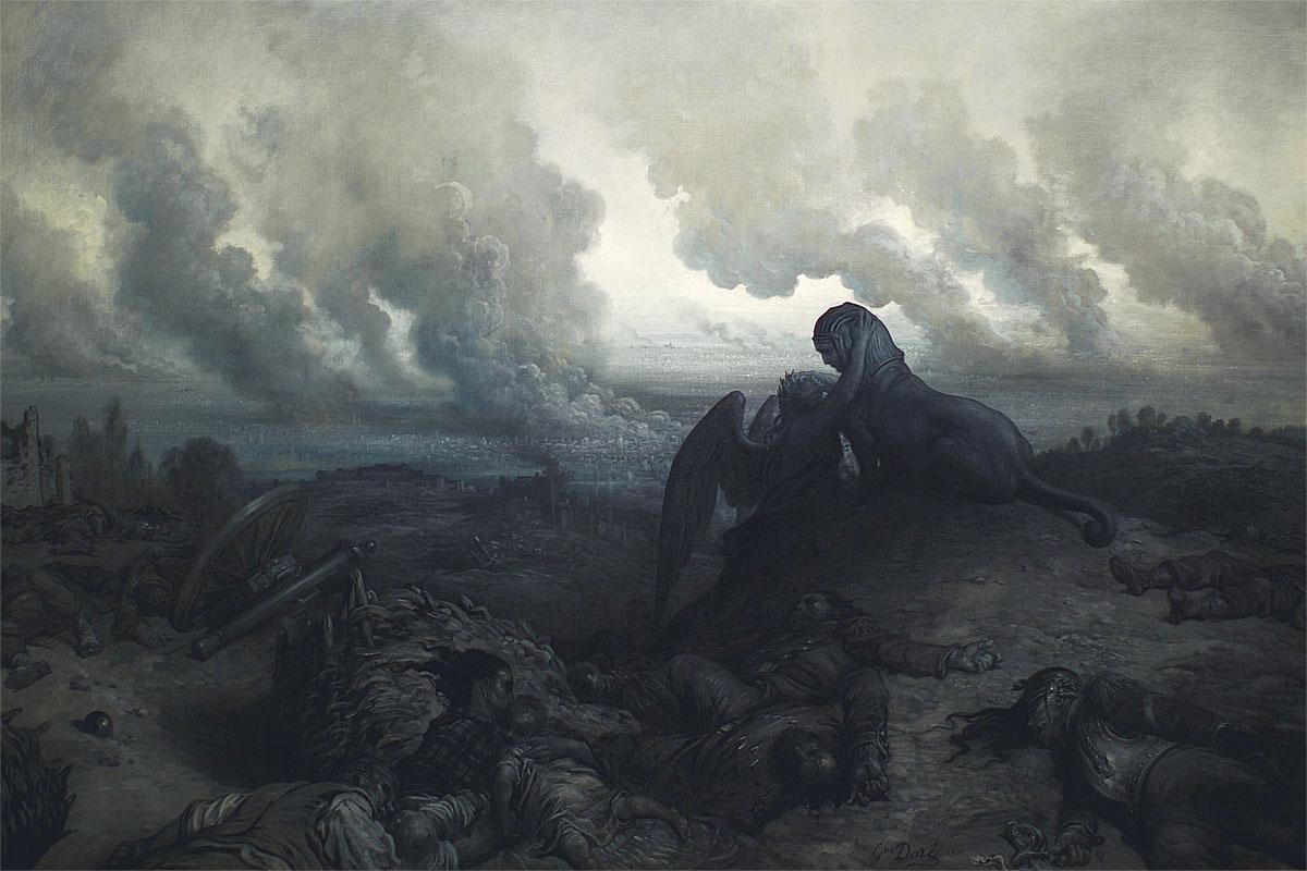L'Enigma (1871, Gustave Doré)