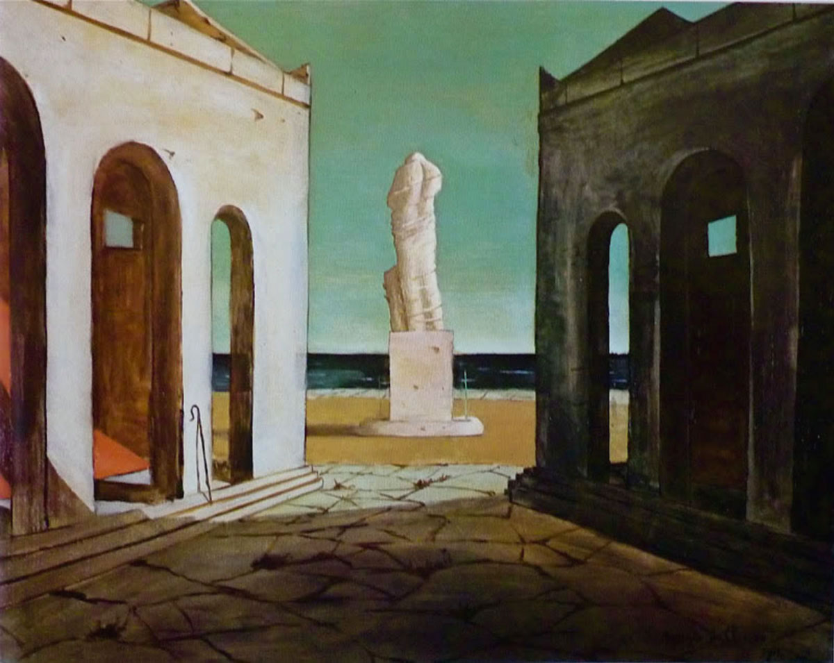 Meditazione Autunnale - Giorgio De Chirico - 1912