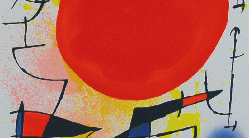 Sole rosso - Le soleil rouge - 1967 - Joan Miro
