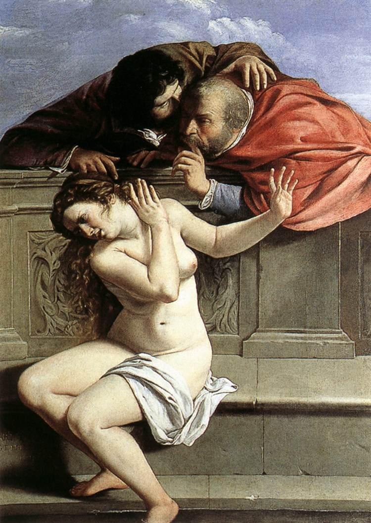 Artemisia Gentileschi: Susanna e i vecchioni (1610)