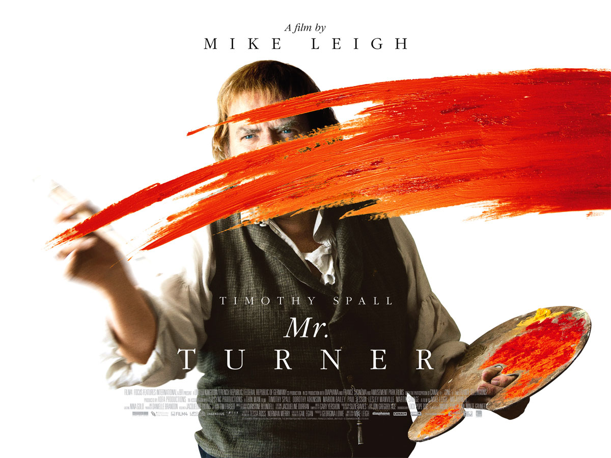 Turner - Mr Turner - poster film - 2014